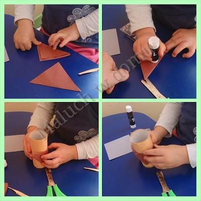 Jak zrobić sowę z rolki po papierze