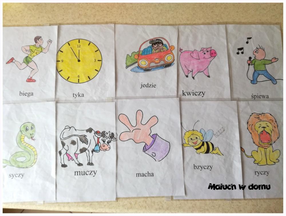 Zabawa integracyjna dla dzieci - ilustracje