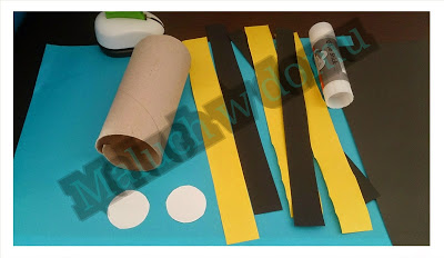 Co zrobić z rolek po papierze? Owady z rolek