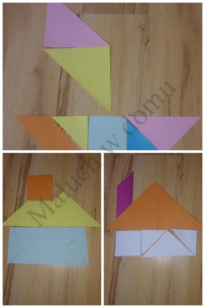 tangram przedmioty