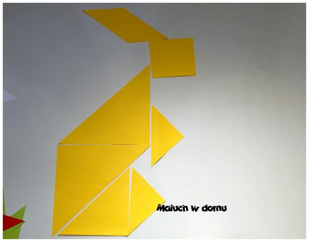 Zając tangram