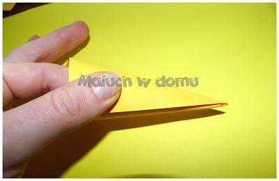 Gwiazda betlejemska z papieru DIY