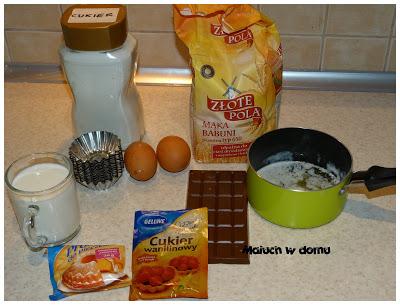 Łatwe muffinki - przepis