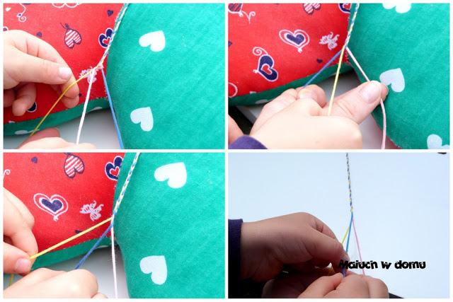 Jak zrobić bransoletkę z nitki
