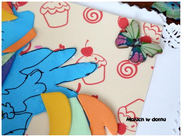 Kartka urodzinowa z kucykiem Pony
