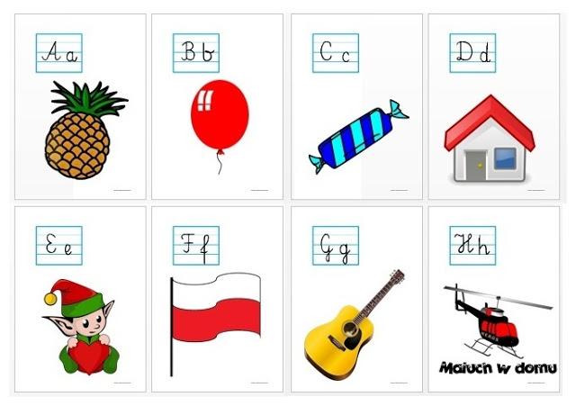 Tablice z literami - różne rodzaje