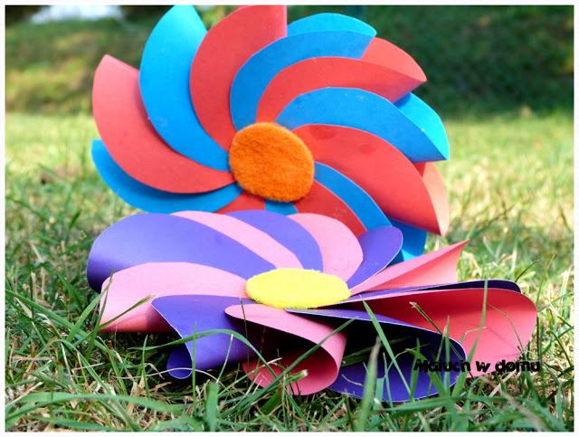 Jak zrobić kwiaty origami z kół