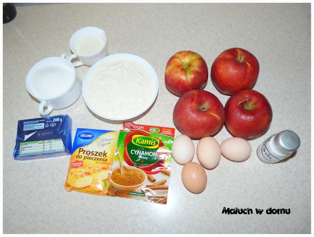 Składniki jabłecznika
