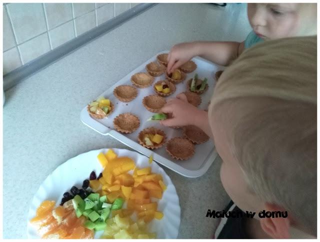 Przepis na kruche babeczki z owocami