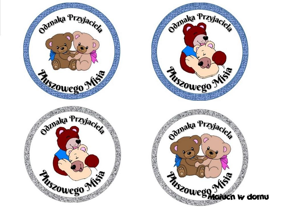 Odznaka Przyjaciela Pluszowego Misia