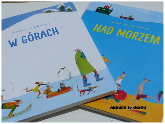 """Germano Zullo & Albertine - """"W górach"""" i """"Nad morzem"""""""