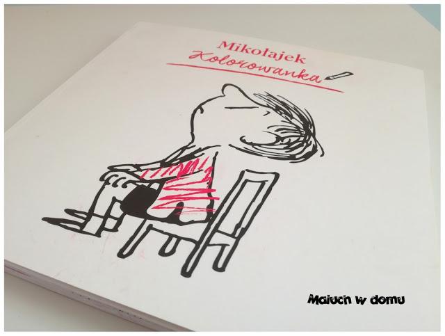 Mikołajek Kolorowanka