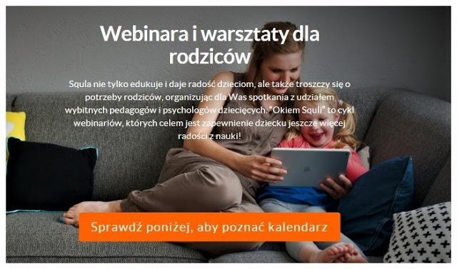 Opcje platformy squla dla rodziców