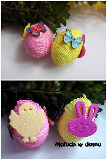 Co warto zrobić z dzieckiem na Wielkanoc - jajko styropianowe