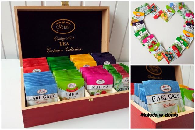 Pomysły na prezent z okazji Dnia Mamy Pudełko herbat