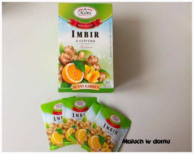 Herbatka Imbir z cytryną Malwa
