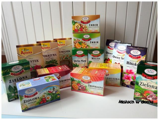 10 herbat korzystnie wpływających na zdrowie