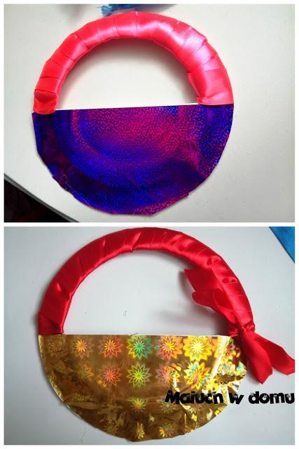Jak zrobić koszyczki z papierowych talerzyków
