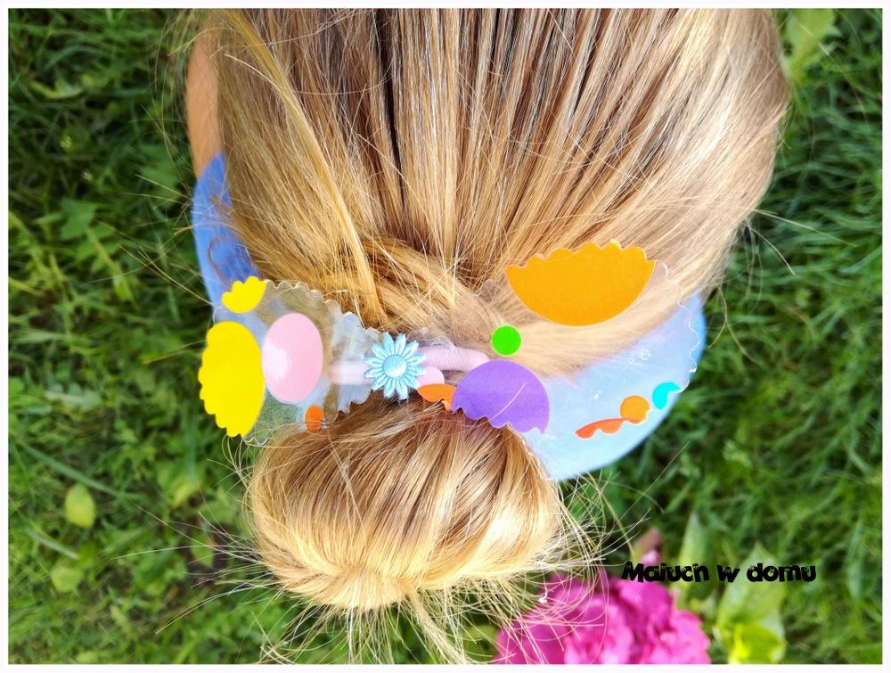 Gumki do włosów handmade dla dziewczynki