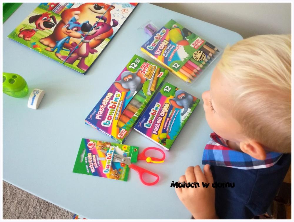 Wyprawka przedszkolaka: przybory