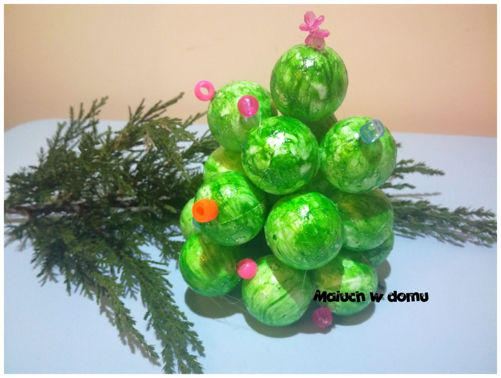 Choinka handmade