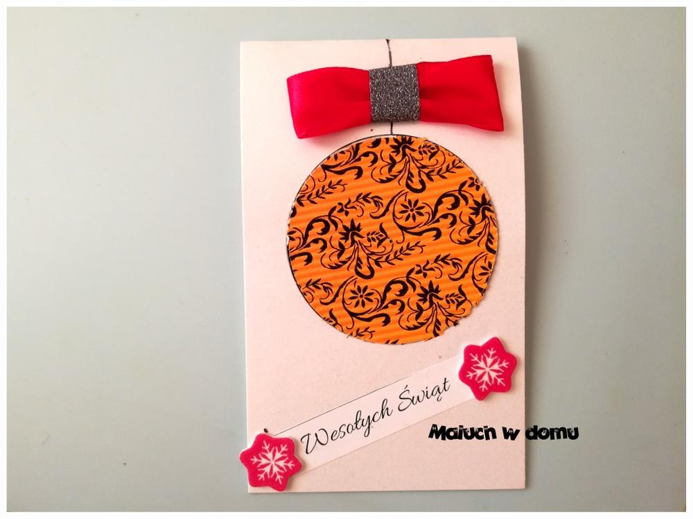 Kartki na Boże Narodzenie DIY