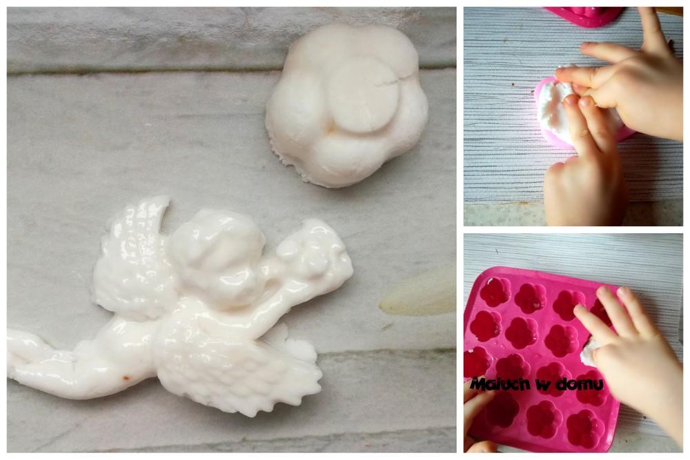5 sposobów wykorzystania silikonowych foremek: masa porcelanowa
