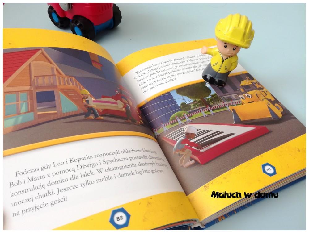 Książki z bohaterami bajek: Bob Budowniczy