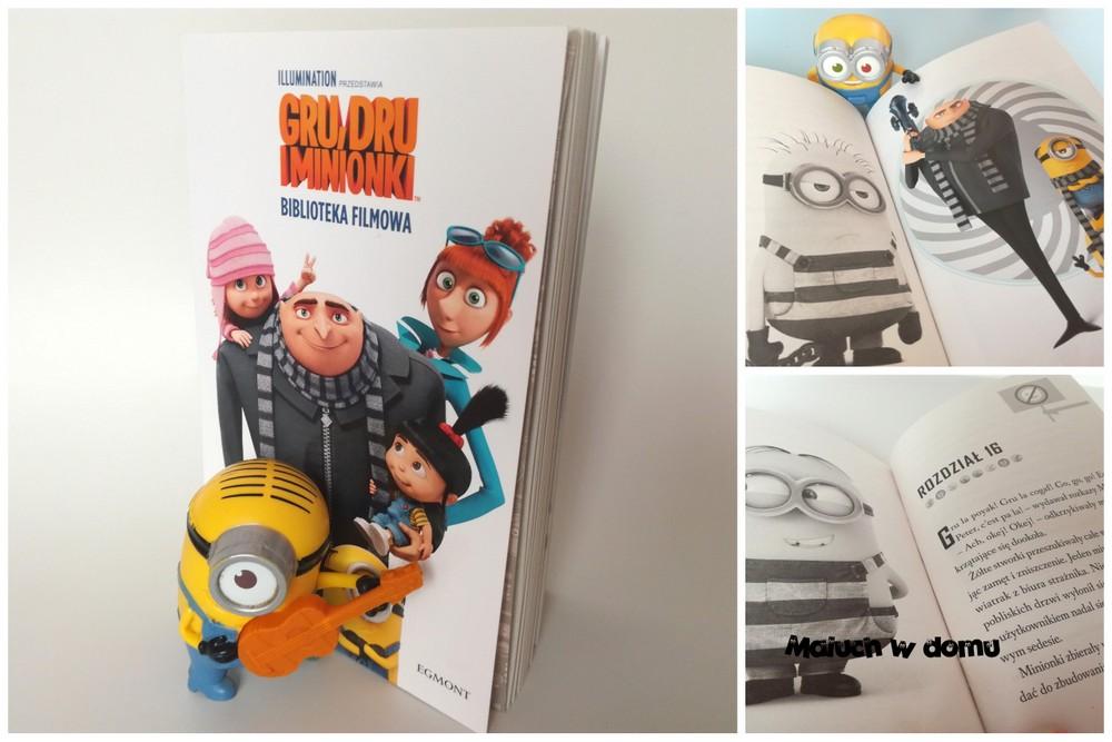 Książki z bohaterami bajek: Minionki
