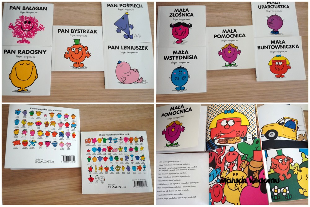 Seria Mała Miss i Mr. Men