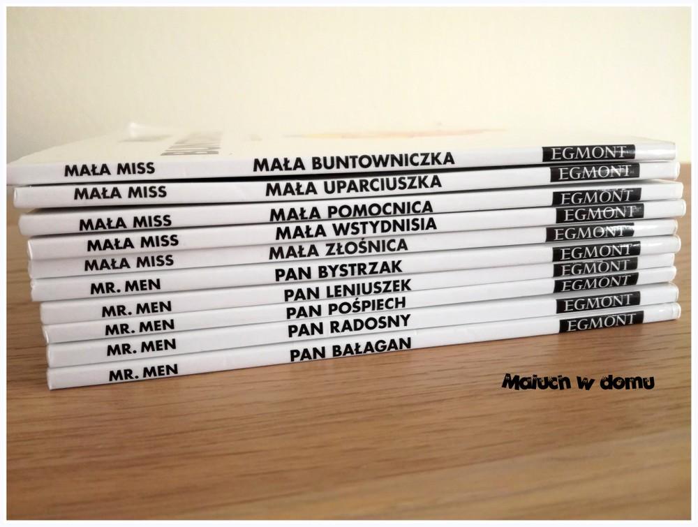Seria książek dla dzieci: Mała Miss i Mr. Men
