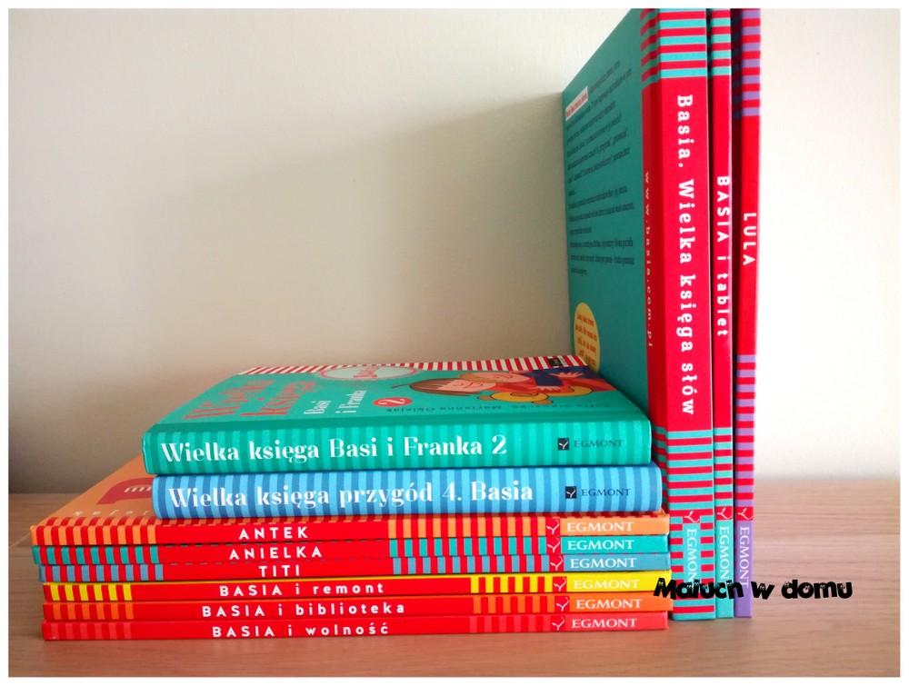 Serie książek dla dzieci: Basia