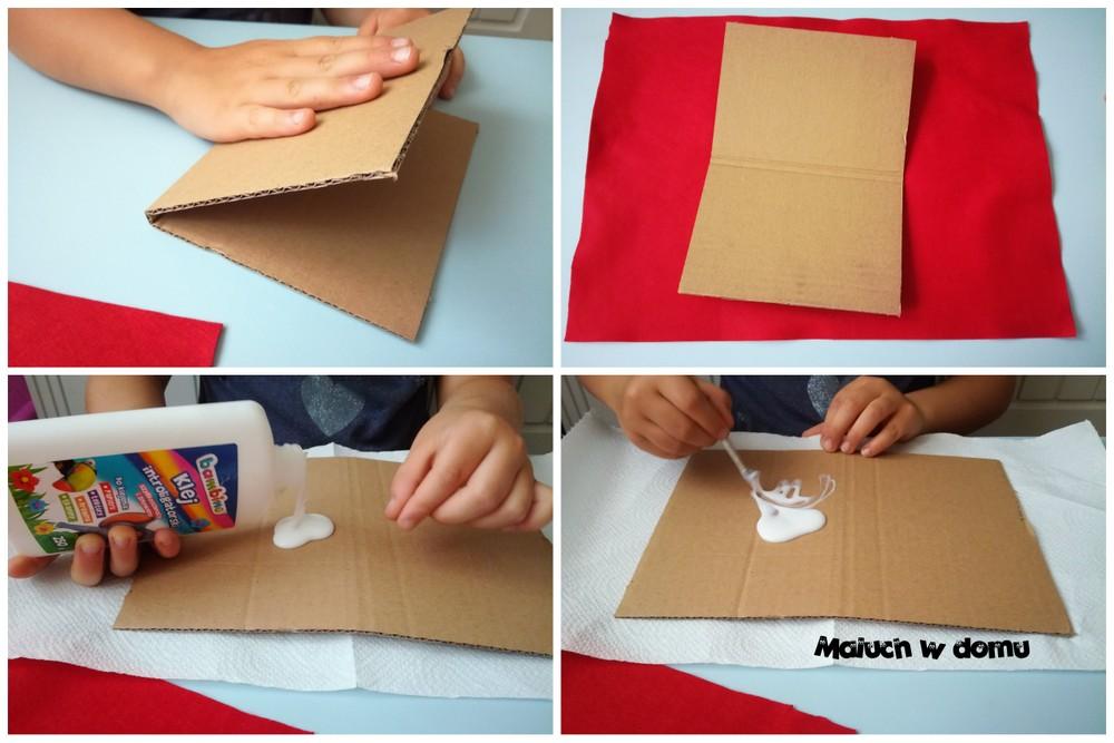 Wykonanie notatnika handmade