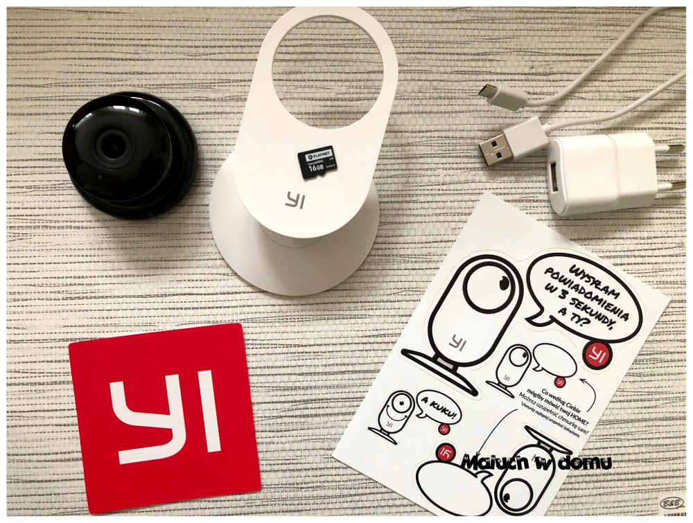 Zestaw YI Home Camera