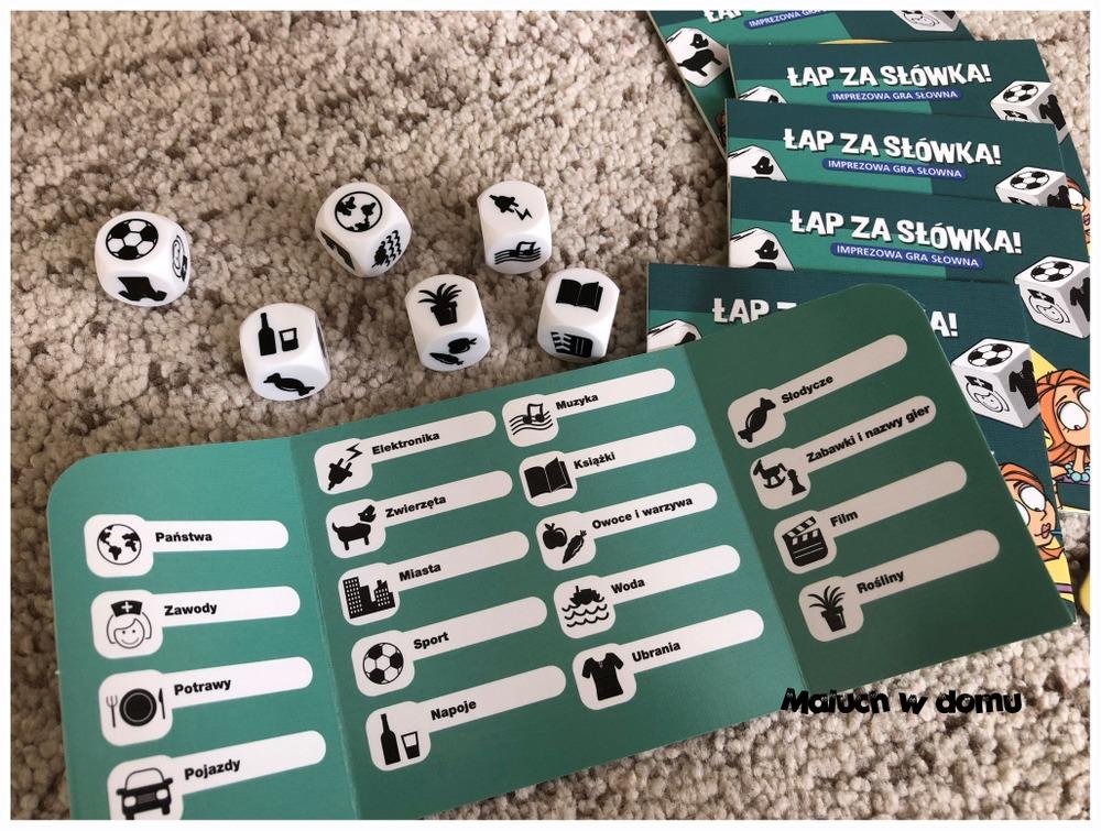 Łap za słówka - imprezowa gra słowna: zestaw