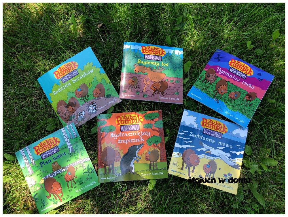 Żubr Pompik Wyprawy - książki dla dzieci