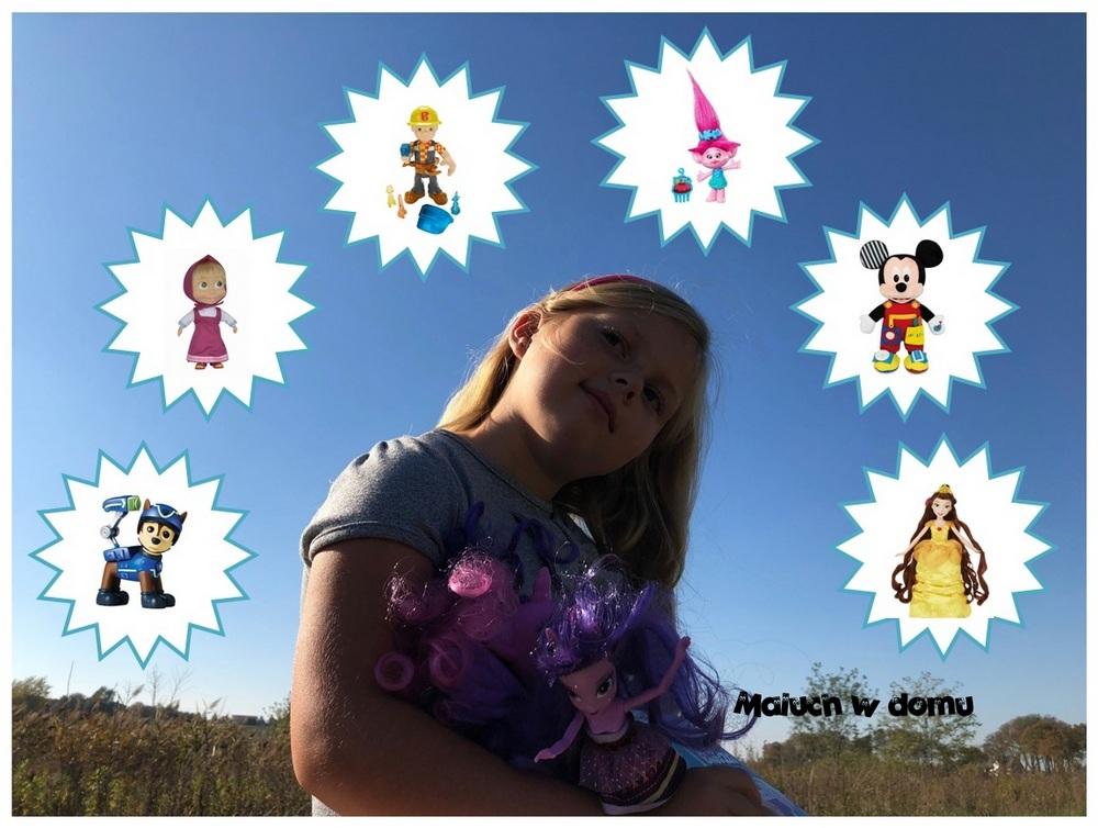 Lalki i figurki z ulubionymi postaciami z bajek