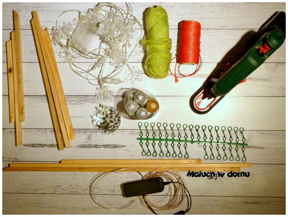Jak zrobić DIY choinki z listewek