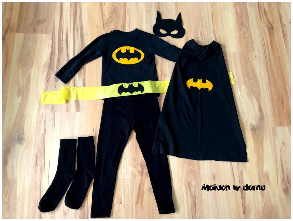 Strój Batmana handmade