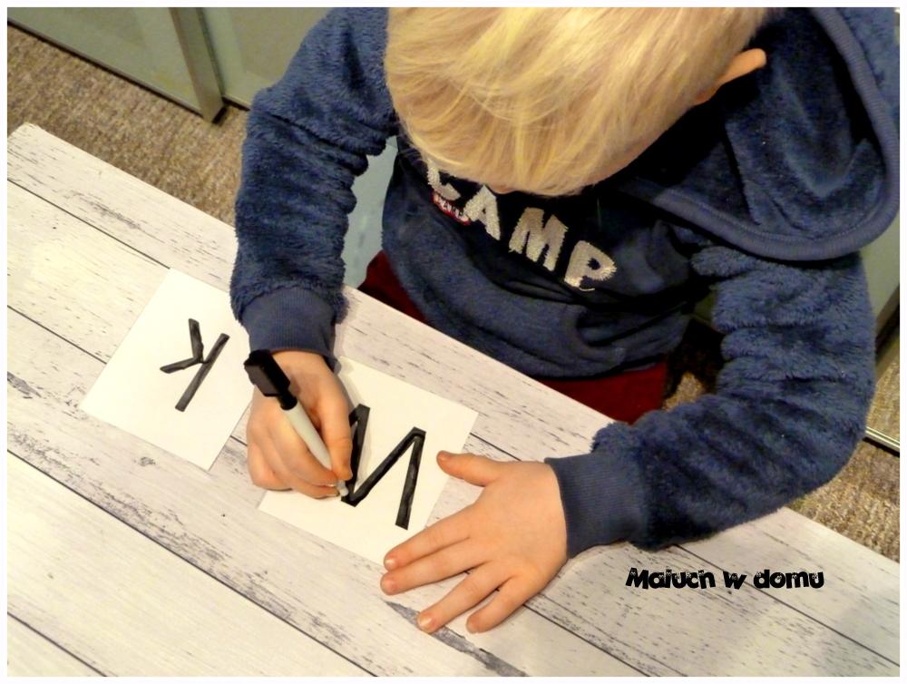 Zestaw do nauki pisania handmade