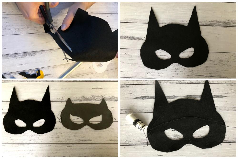Maska Batmana i Batgirl