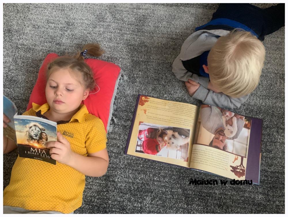 Książki Mia i biały lew