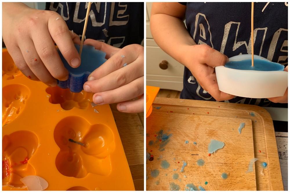Jak zrobić świeczki