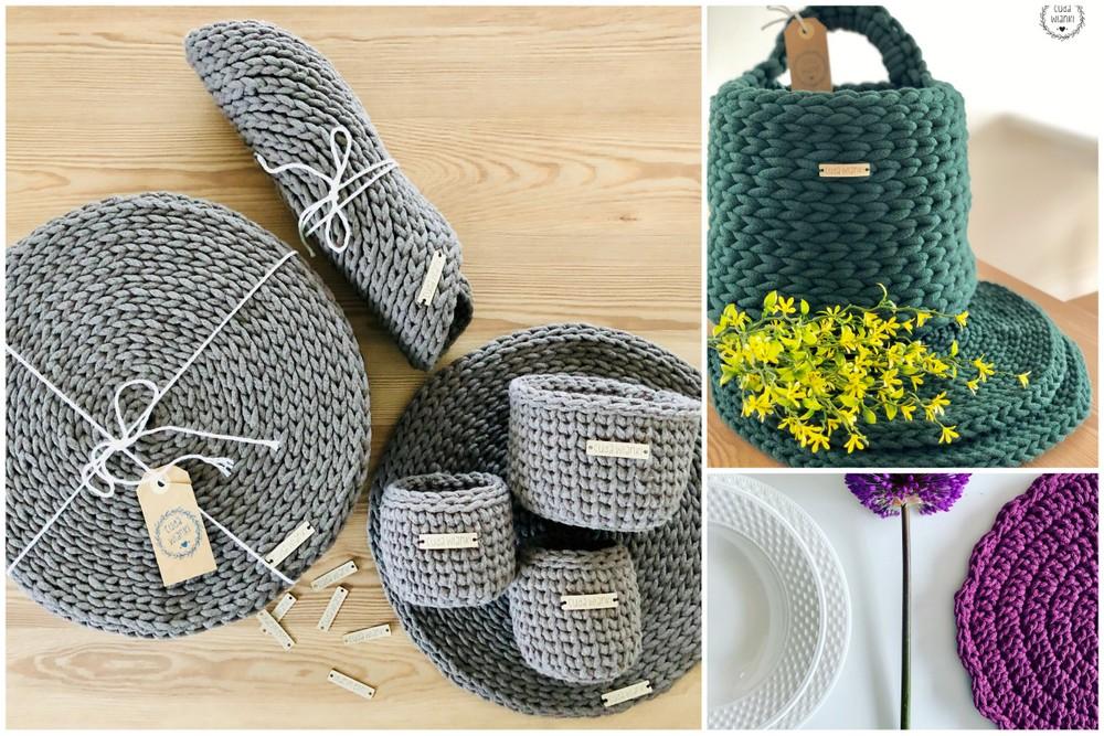 Cuda wianki - wytwory ze sznurka handmade