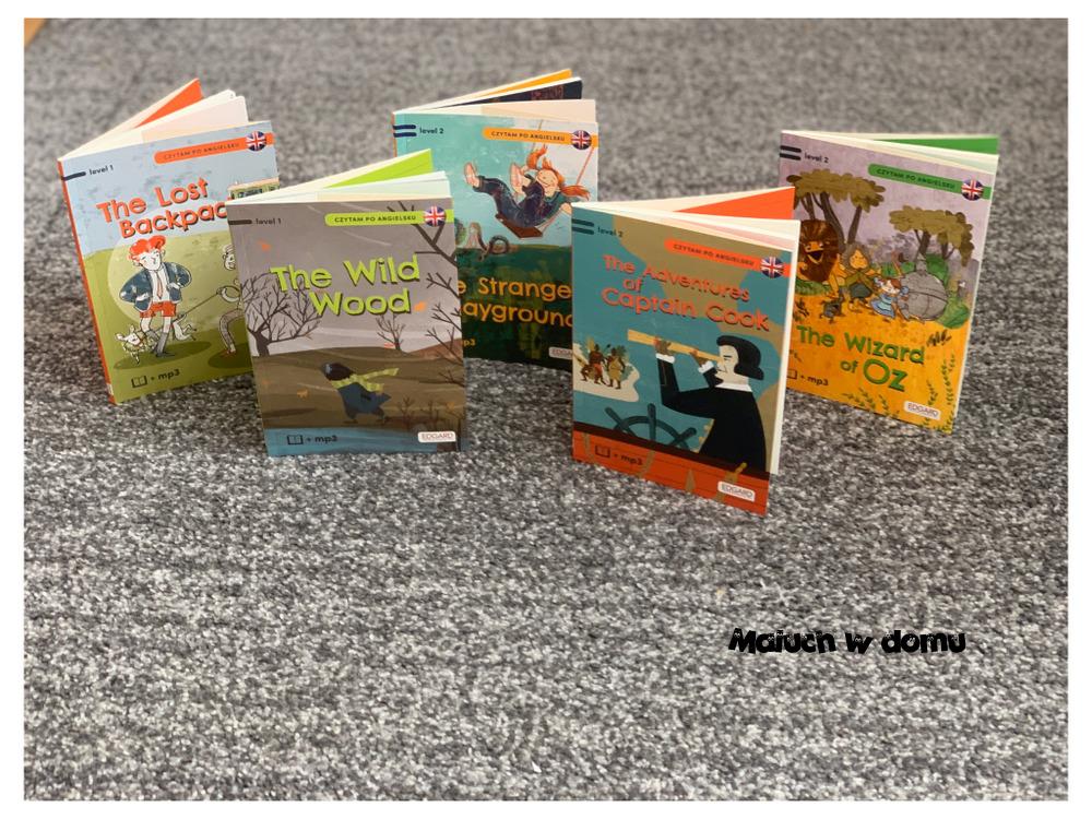 Czytam po angielsku - seria dla dzieci