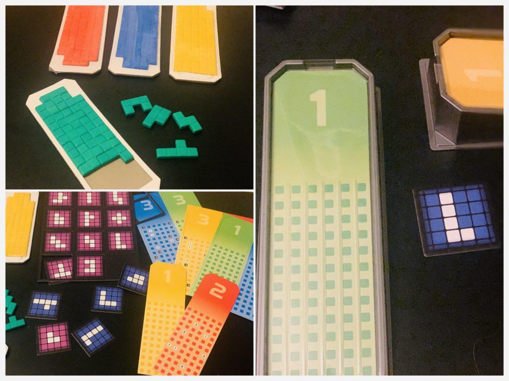 Tetris - gra planszowa