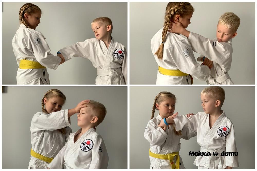 Techniki aikido dla dzieci