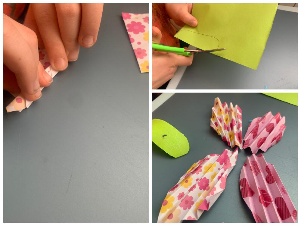 Motyl z papieru