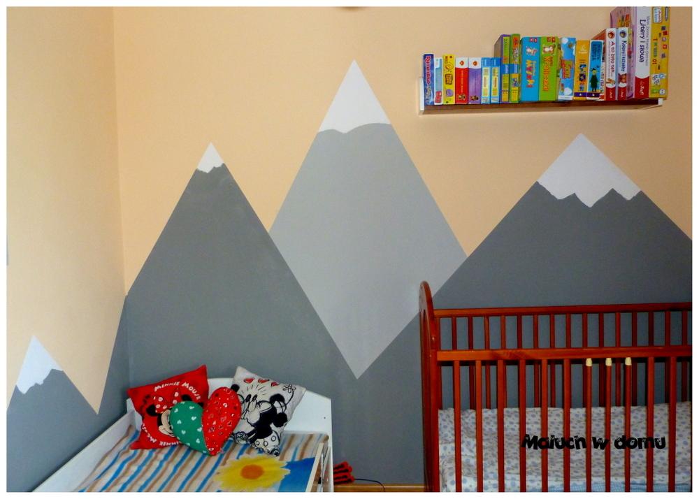 Góry w pokoju dziecka