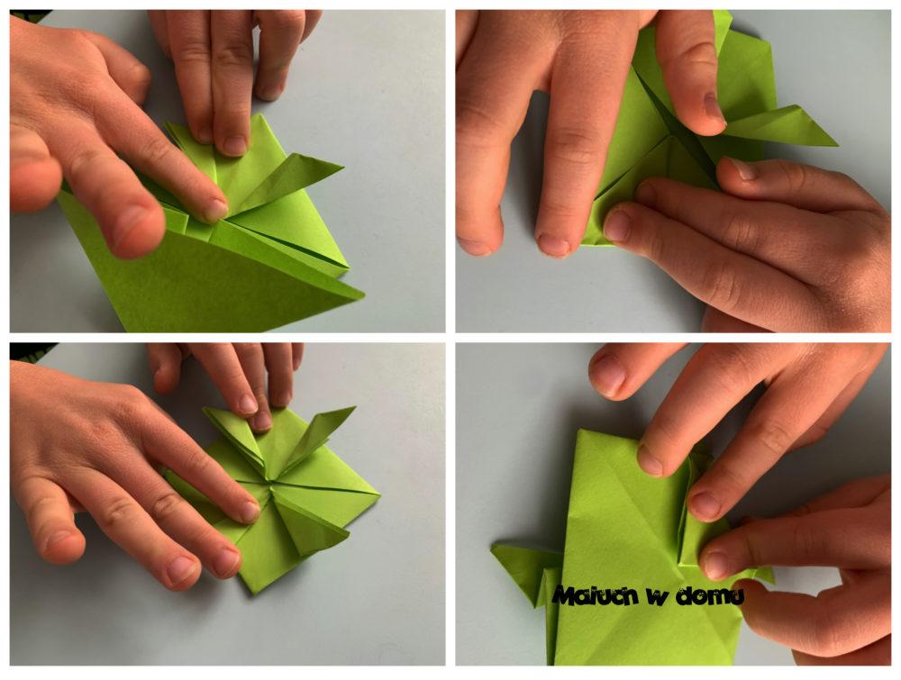 Jak zrobić żabkę z papieru